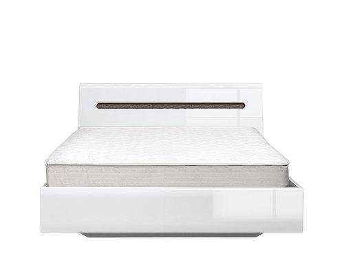Кровать AZTECA LOZ140x200 (белый) с металлическим основанием за 28326 ₽