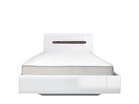 AZTECA Кровать LOZ90x200 белый с металлическим основанием
