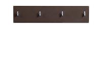 Вешалка PAN/2/8 II темно-коричневый блеск HOMELINE