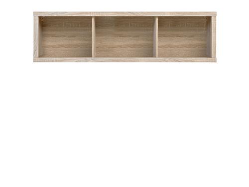 КАСПИАН Навесной шкаф SFW/140 дуб сонома за 5372 ₽