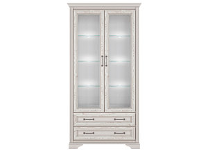 Шкаф REG2W2S с подсветкой лиственница сибирская Stylius за 46901 ₽