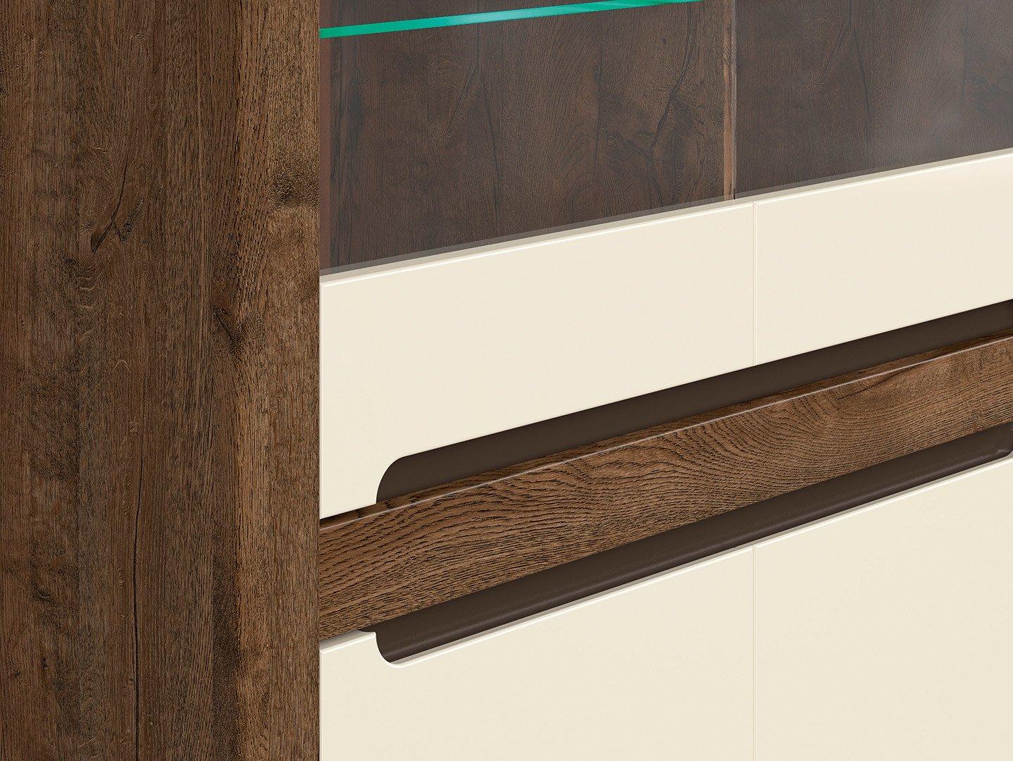 Шкаф REG2W2D с подсветкой Ruso