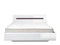 AZTECA Кровать LOZ160x200 белый с металлическим основанием