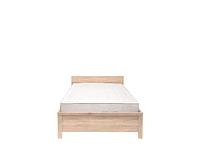 Кровать КАСПИАН LOZ90x200 дуб сонома - гибкое основание