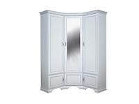 Шкаф угловой KENTAKI SZFN5D белый