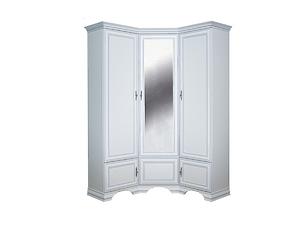 Шкаф угловой Kentaki SZFN5D белый за 61187 ₽