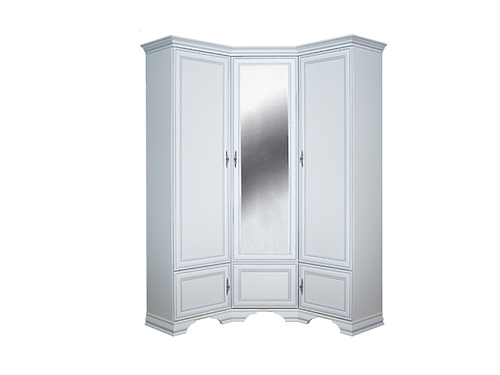 Шкаф угловой KENTAKI SZFN5D белый за 48595 ₽