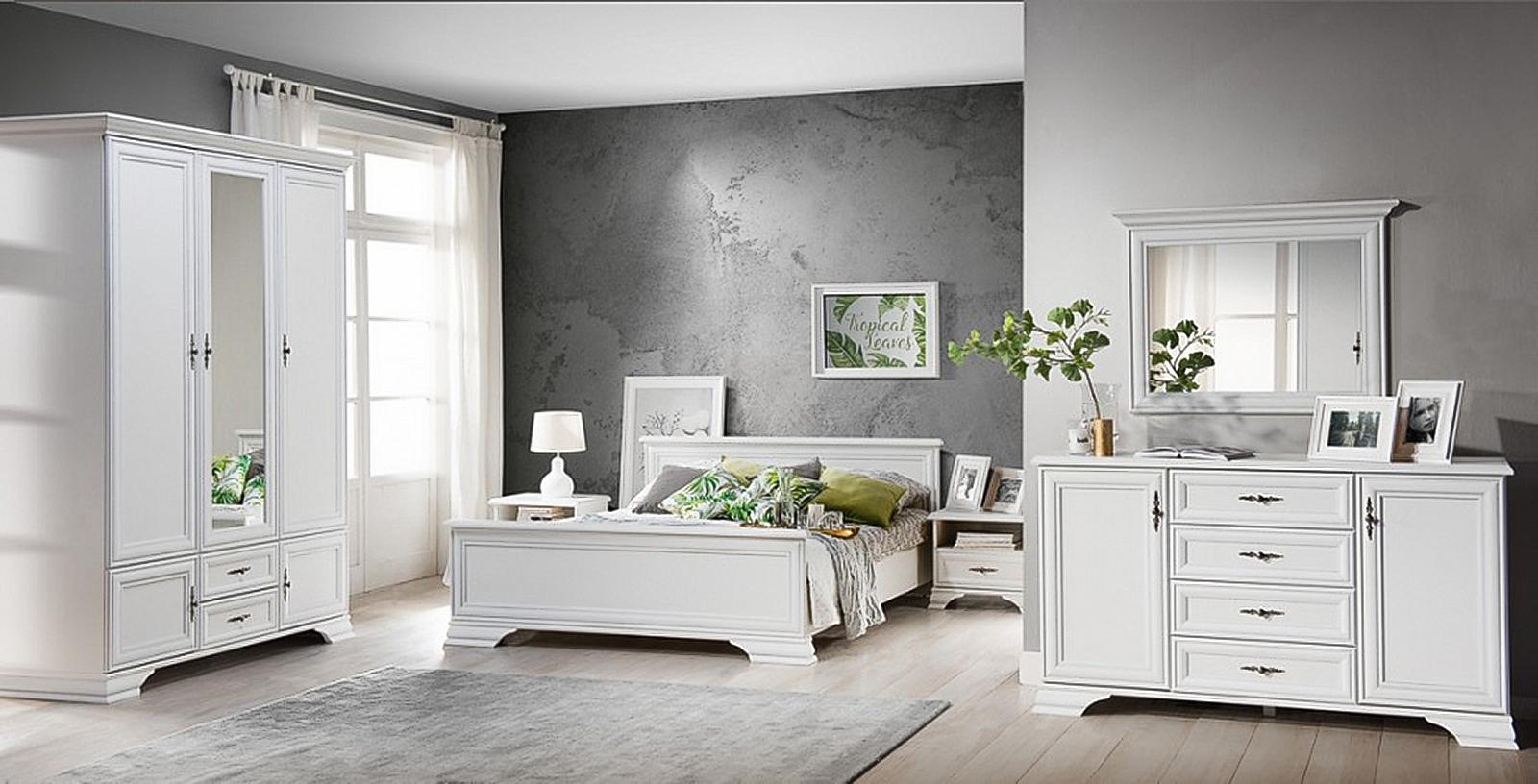 Спальня Кентаки белая