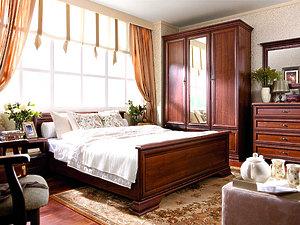 Спальня Kentaki каштан за 109136 ₽