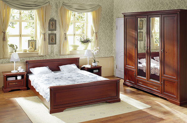Классическая мебель в спальню