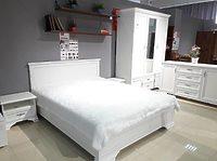 Кровать LOZ160х200 белый KENTAKI с основанием БРВ