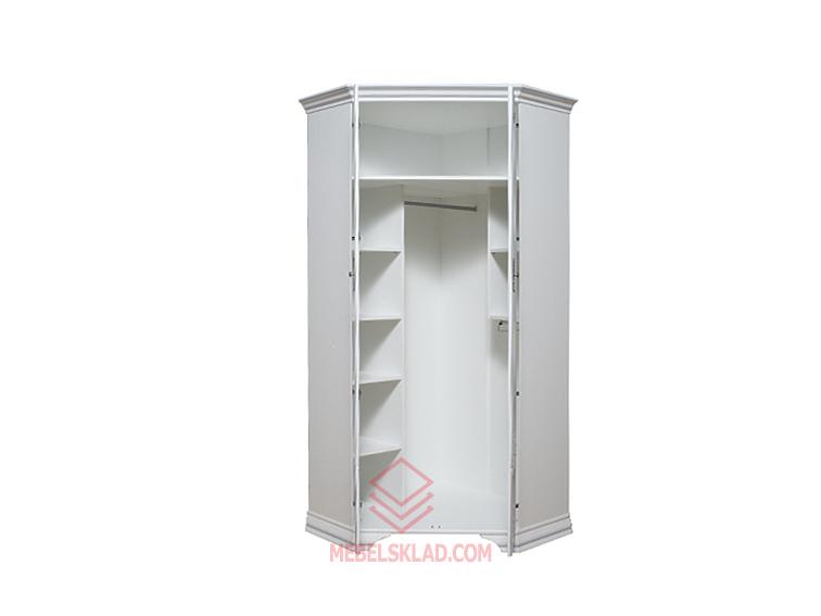 Шкаф угловой KENTAKI SZFN2D белый за 24001 ₽