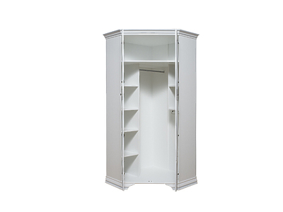 Шкаф угловой KENTAKI SZFN2D белый за 22 133 руб