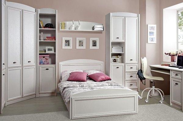 Белая детская мебель