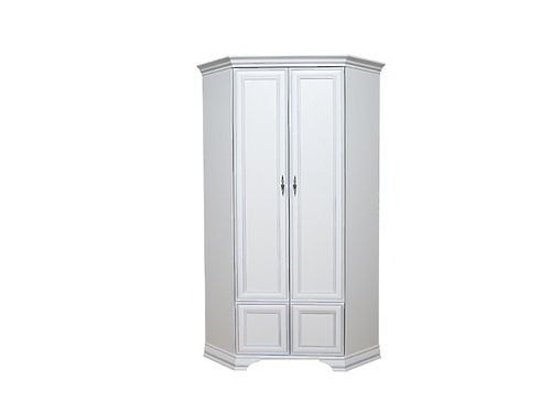 Шкаф угловой KENTAKI SZFN2D белый за 20401 ₽