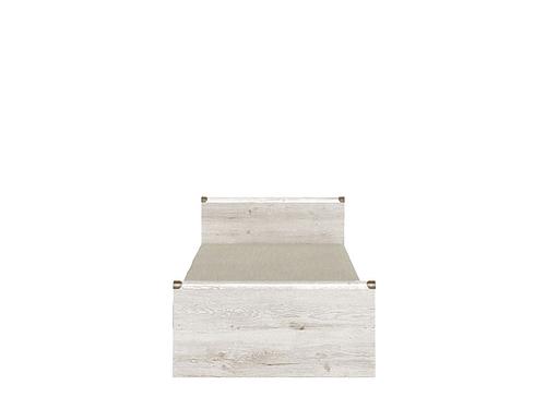 Кровать ИНДИАНА JLOZ 90х200  с металлическим основанием за 12526 ₽