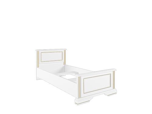Кровать с металлическим основанием 90  LOZ90х200 сосна золотая ВАЙТ за 15820 ₽
