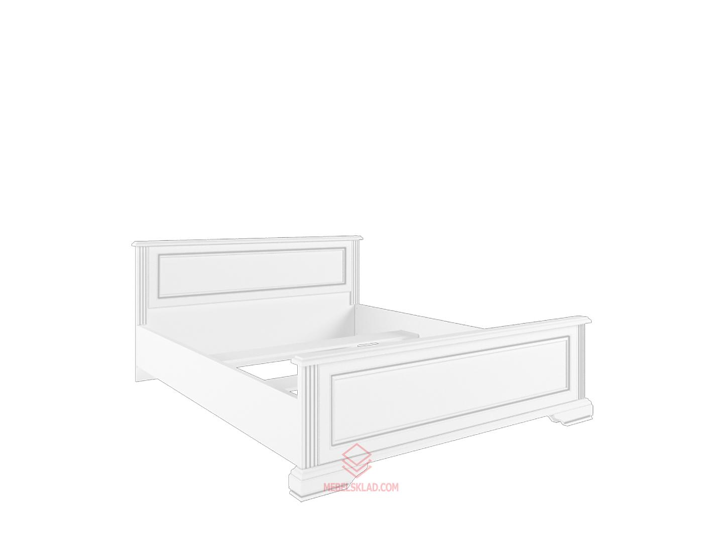 Кровать с основанием гибким LOZ140х200 сосна серебряная ВАЙТ за 18615 ₽