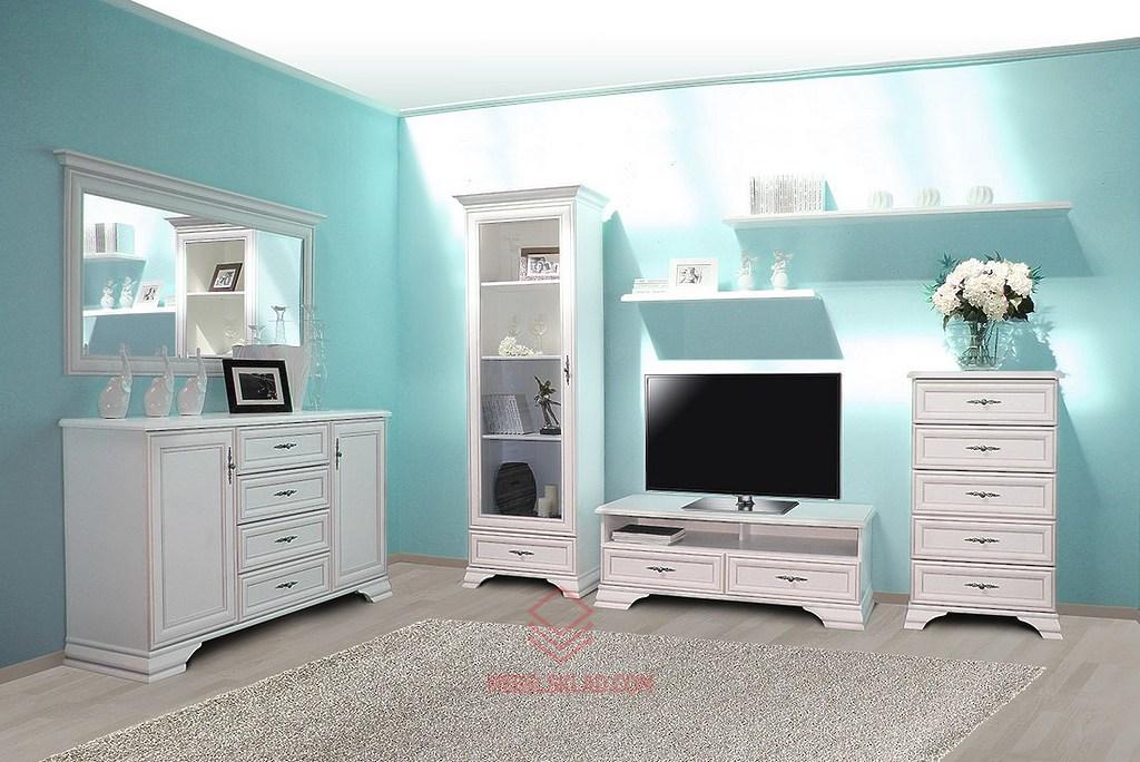 Белая классическая гостиная Kentaki за 63341 ₽