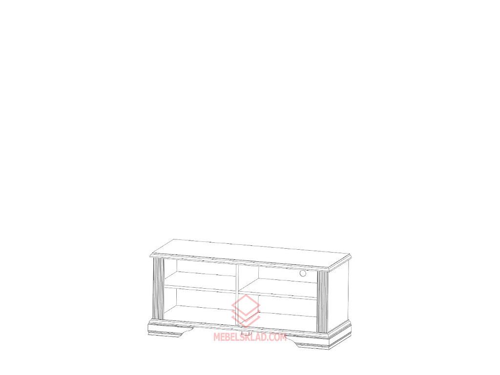 Тумба РТВ 120 сосна серебряная ВАЙТ за 7719 ₽