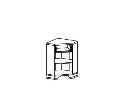 Тумба KENTAKI KOMN1D1S/L  за 9 173 руб