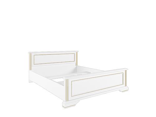 Кровать с основанием гибким  LOZ160х200 сосна золотая ВАЙТ за 21 358 ₽