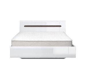 Кровать AZTECA LOZ140x200 (белый) с металлическим основанием за 32113 ₽