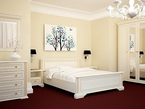 Спальный гарнитур Вайт за 100 707 руб