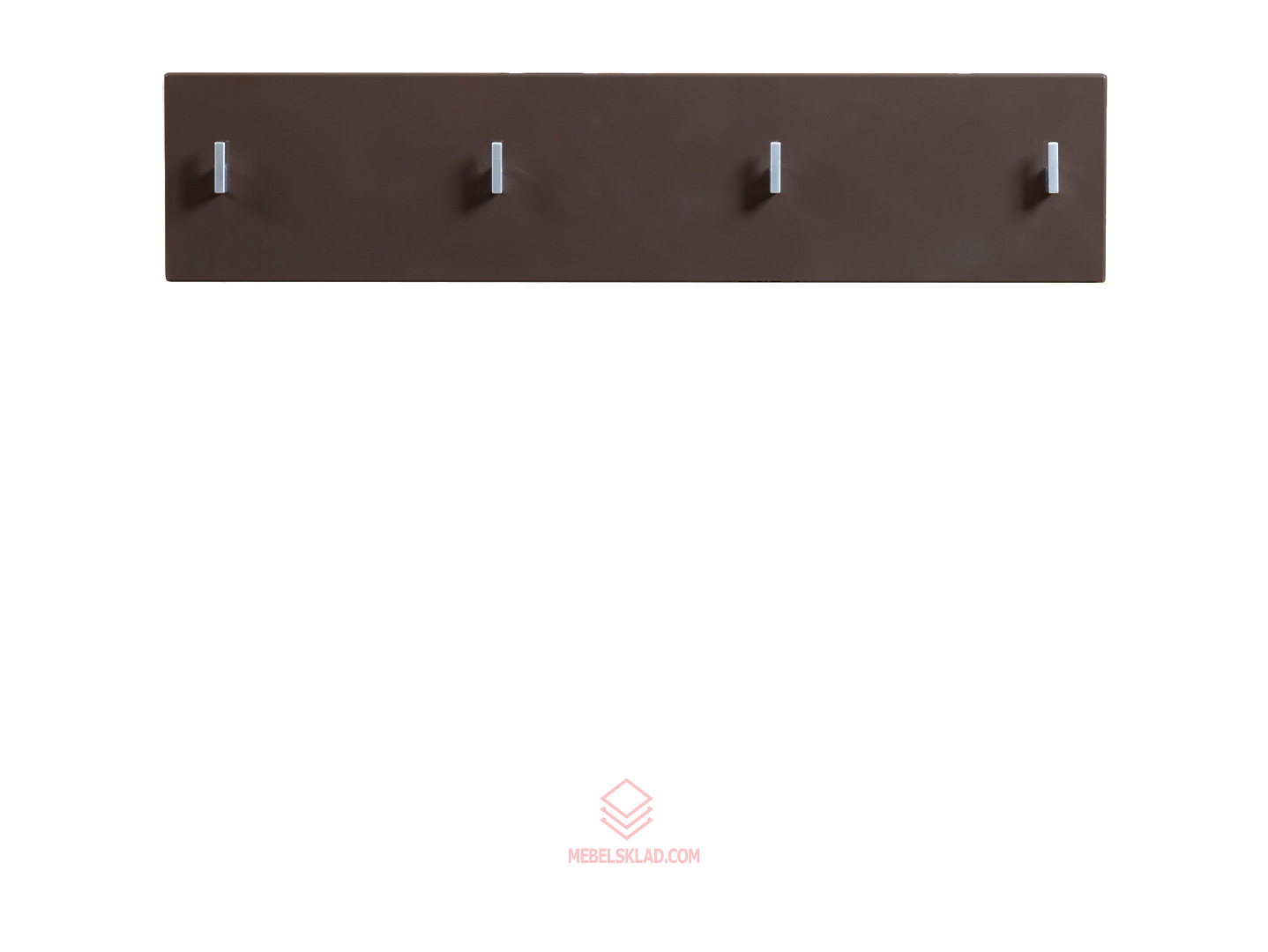 Вешалка PAN/2/8 II темно-коричневый блеск HOMELINE за 2205 ₽