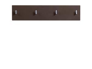 Вешалка PAN/2/8 II темно-коричневый блеск HOMELINE за 2720 ₽