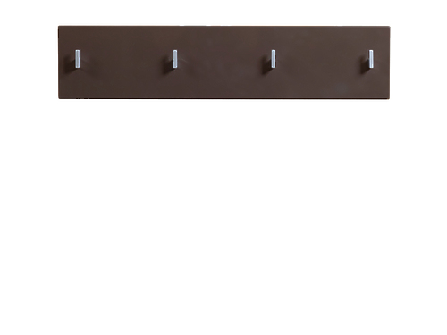 Вешалка PAN/2/8 II темно-коричневый блеск HOMELINE за 1764 ₽