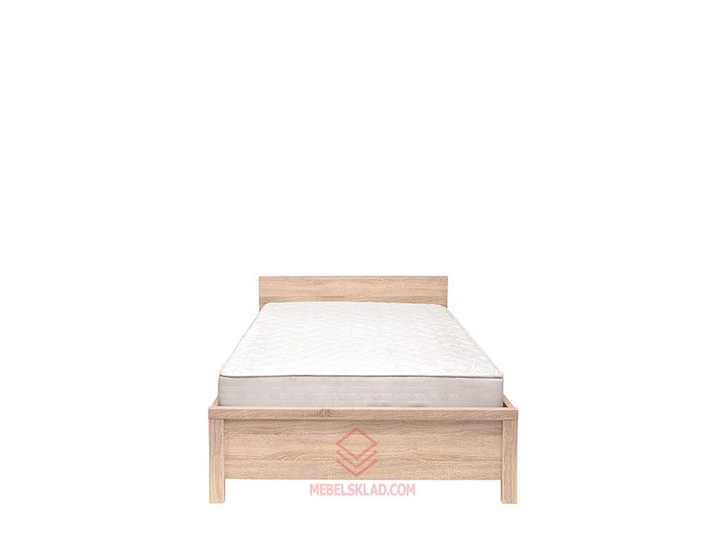 Кровать КАСПИАН LOZ90 дуб сонома - металлическое основание за 12754 ₽