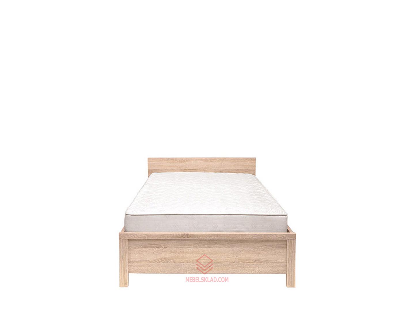 Кровать КАСПИАН LOZ90x200 дуб сонома - металлическое основание