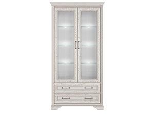 Шкаф REG2W2S с подсветкой лиственница сибирская STYLIUS за 41582 ₽