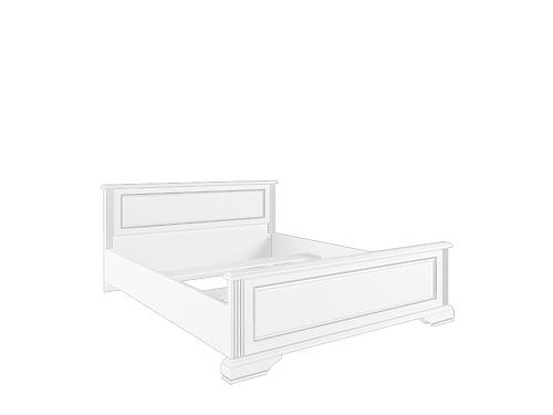 Кровать с металлическим основанием LOZ160х200 сосна серебряная ВАЙТ за 22701 ₽