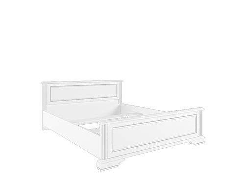 Кровать с основанием гибким LOZ180х200 сосна серебряная ВАЙТ за 22 472 руб