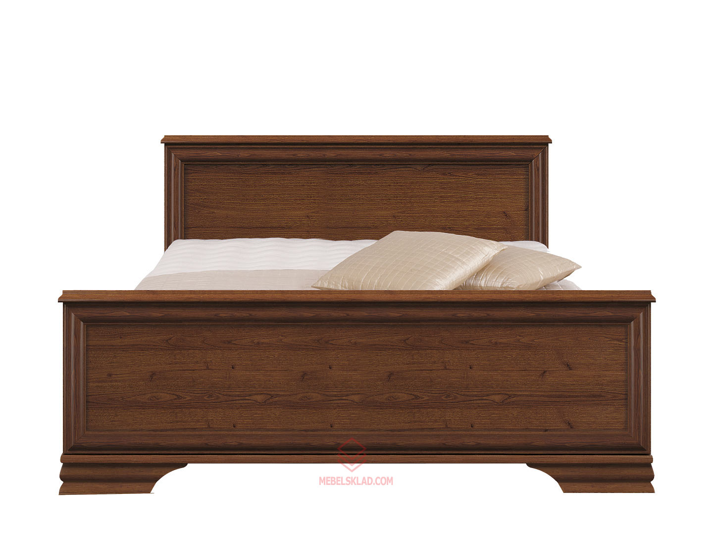 Кровать LOZ140x200 каштан KENTAKI с основанием БРВ