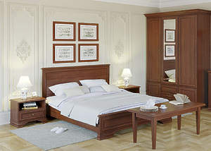 Спальня Кентаки каштан за 98585 ₽
