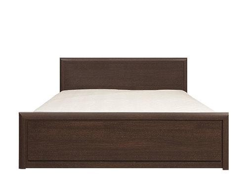 Кровать LOZ160х200_2 венге магия КОЕН с металлическим основанием за 17 668 руб
