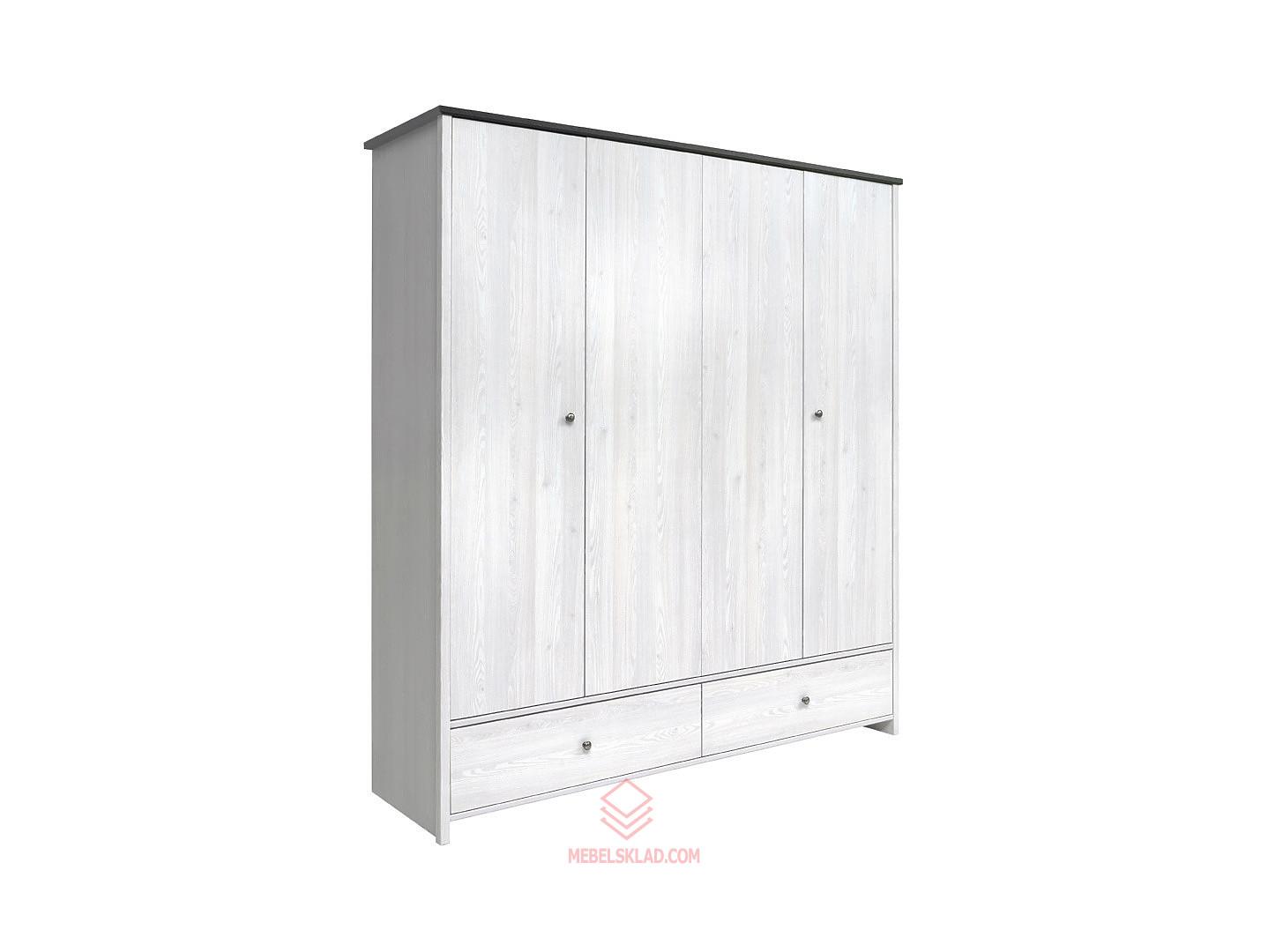 Шкаф платяной SZF4D2S Porto