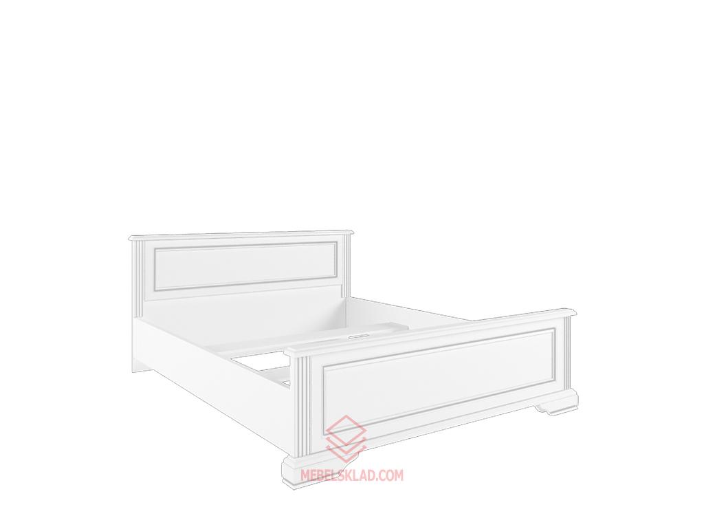 Кровать с основанием гибким LOZ160х200 сосна серебряная ВАЙТ за 21358 ₽