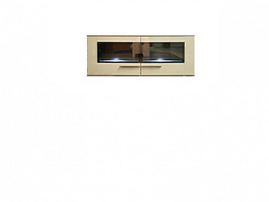 Шкаф настенный DRIFT SFW2W/6/13 ясень коимбра темный / песочный блеск за 16216 ₽