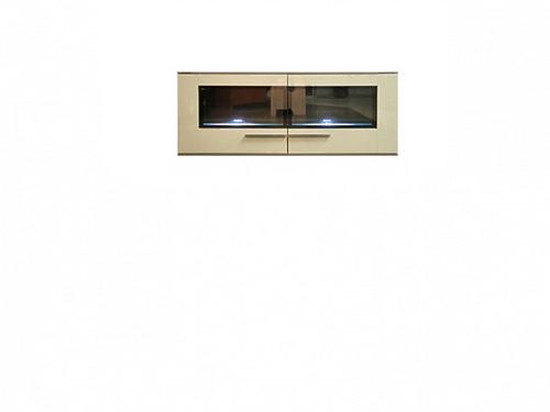 Шкаф настенный DRIFT SFW2W/6/13 ясень коимбра темный / песочный блеск за 12 610 ₽