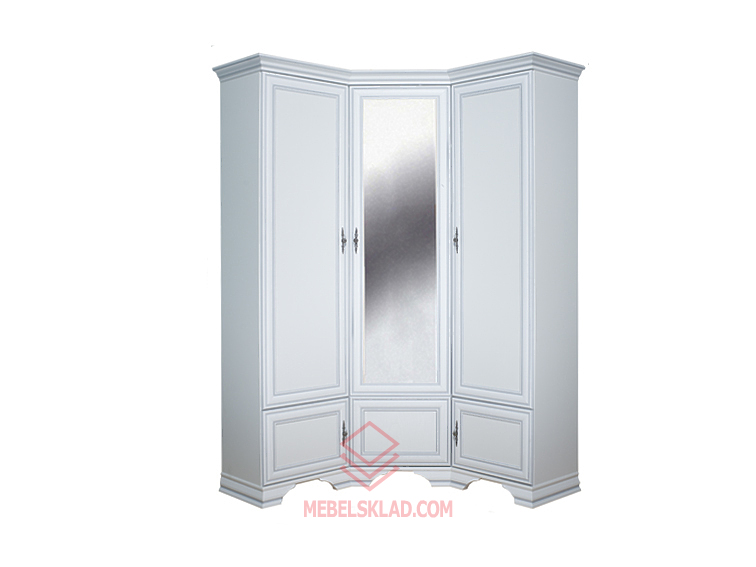 Шкаф угловой KENTAKI SZFN5D белый за 38732 ₽