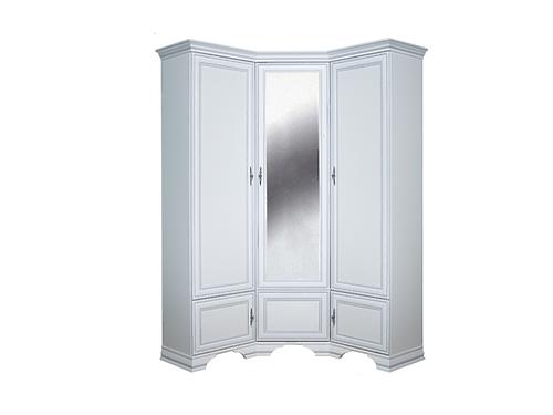 Шкаф угловой KENTAKI SZFN5D белый за 44015 ₽