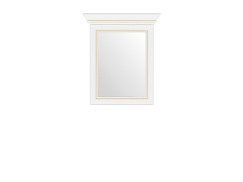 Зеркало 60 сосна золотая ВАЙТ за 4300 ₽
