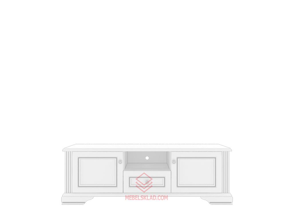 Тумба РТВ 160 сосна серебряная ВАЙТ за 12635 ₽