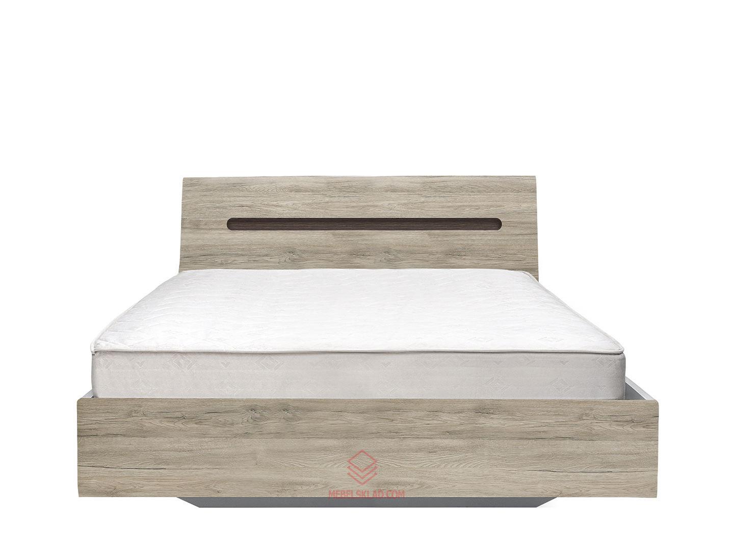 Кровать AZTECA LOZ140x200 дуб санремо с основанием БРВ