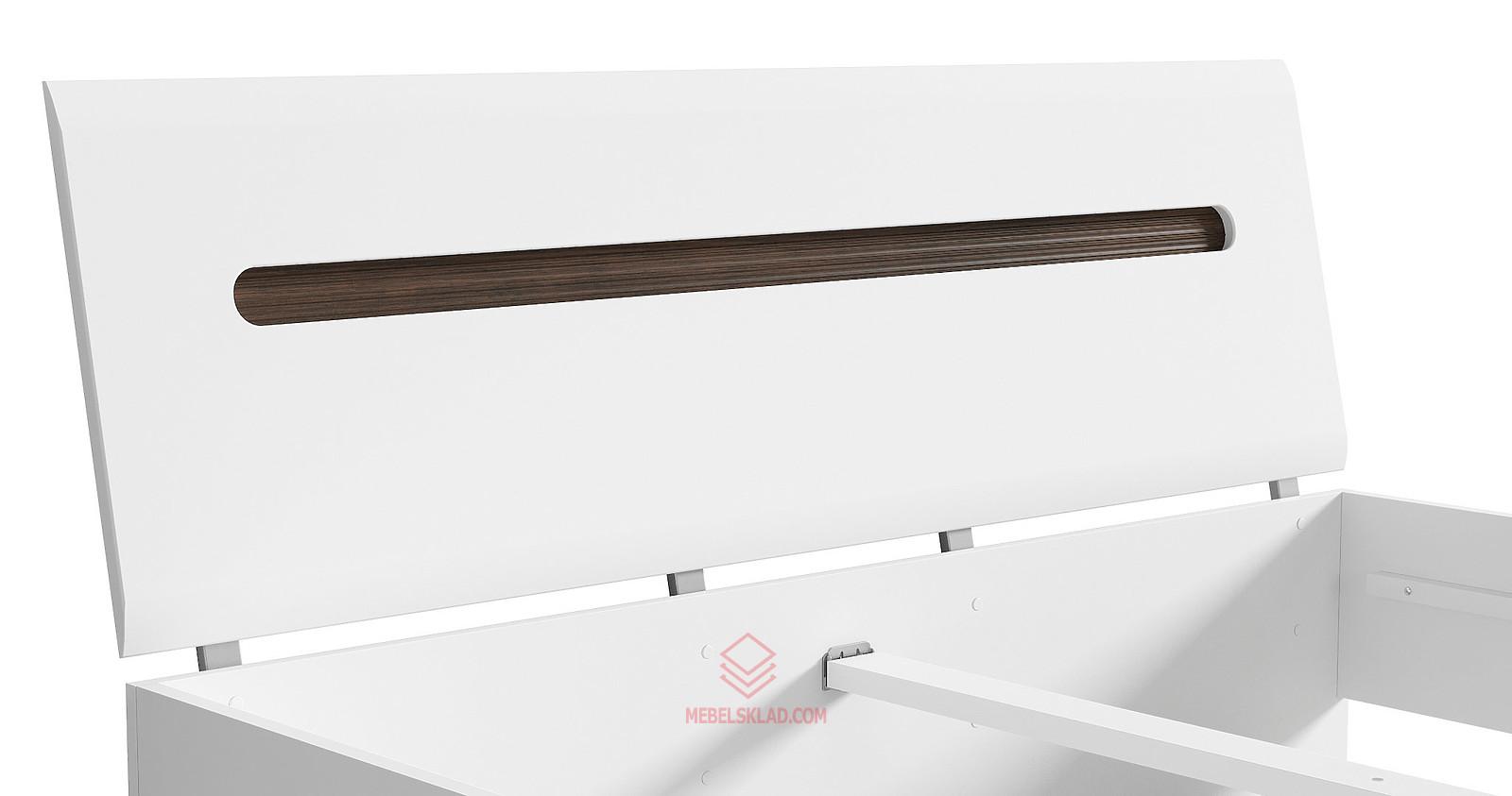 AZTECA Кровать LOZ160x200 белый за 24429 ₽