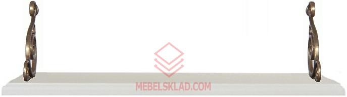 Полка Kentaki POL/95 II белая